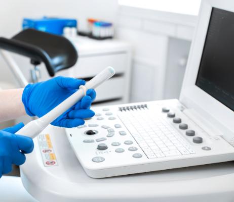 写真:子宮がん検診