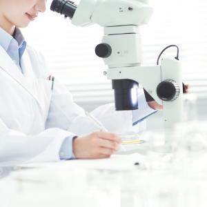 写真:子宮内膜細胞診